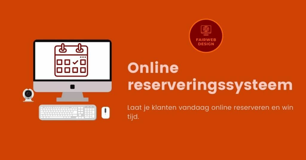 online reserveringssysteem